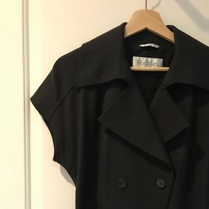Max Mara Belted Short Sleeve, Dbl Breasted Blazer